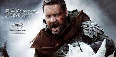 Estrenos de cine | 14 de mayo | Ridley Scott, Russell Crowe, Robin Hood