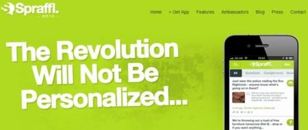 Spraffl, la aplicación para iOS que te lleva al anonimato