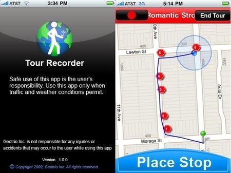 Aplicaciones viajeras para el iPhone: Geotrio