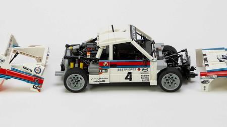 Lancia 037 Martini Lego