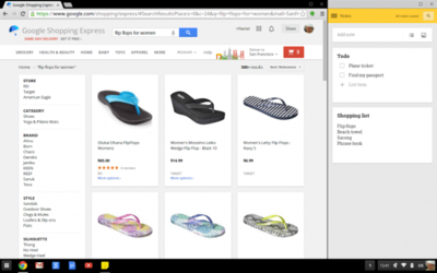 Google lleva la multitarea de Windows 8 a Chrome OS