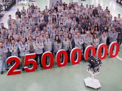 25 millones de motores Renault fabricados en Valladolid son un montón