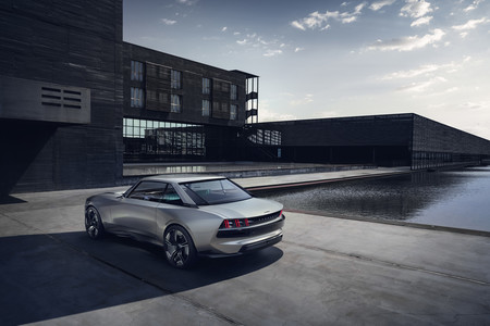 Peugeot E Legend Concept Sabor Retro Y La Ultima Tecnologia Para