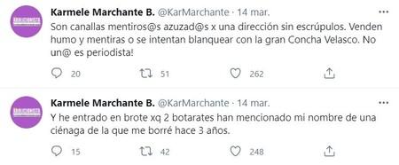 Karmele Marchante Tweets