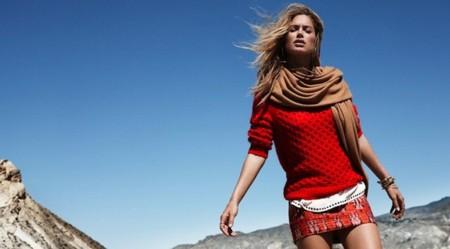 hm invierno doutzen kroes outfit rojo