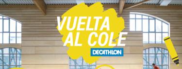 Decathlon tiene las mejores prendas para la vuelta al cole por menos de 10 euros