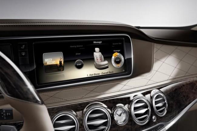 S-Class interior