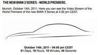 El viernes 14 de octubre, BMW desvelará su nuevo Serie 3