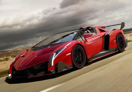 Lamborghini Veneno Roadster, de caprichos a caprichotes