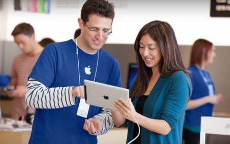 La cantidad de empleados en las Apple Store se ha triplicado en cinco años