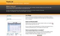 YourLi.st, creando recordatorios personalizados para nuestro correo electrónico