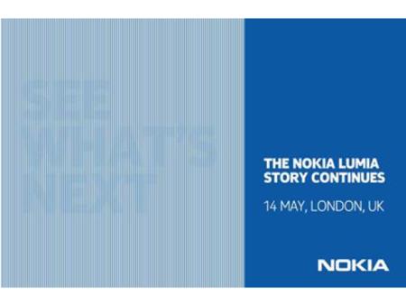 Nokia organiza un evento el 14 de mayo para hablarnos sobre próximos teléfonos Lumia