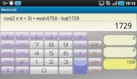 MemCalc, una calculadora científica que no se olvida de nada