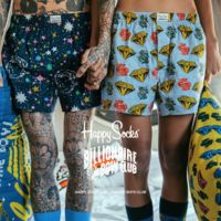 Billionaire Boys Club x Happy Socks, la colaboración que debes tener en tu radar