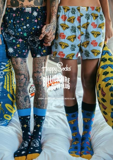 Billionaire Boys Club x Happy Socks, la colaboración que debes tener en tu radar