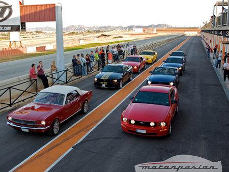 Ford Mustang en el Circuito de Cartagena