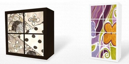 Ikrea, láminas autoadhesivas para tus muebles de Ikea