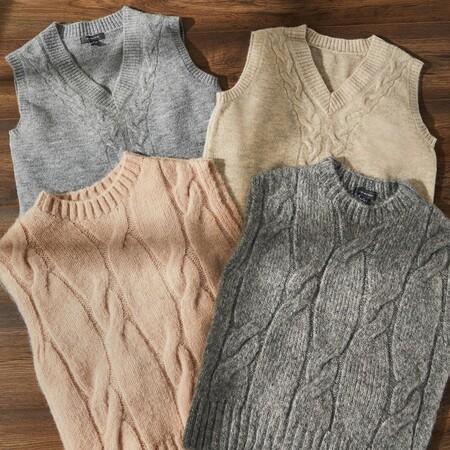 Primark nos propone cómodos y bonitos jerséis, chaquetas y chalecos de punto para nuestros looks diarios