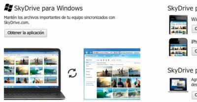 Skydrive para Windows y OS X se actualizan: sincronización de hasta diez millones de archivos, fotografías y más