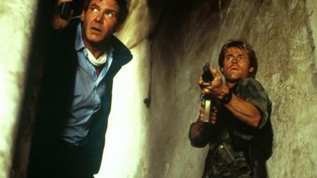 Harrison Ford con Willem Dafoe en Peligro Inminente