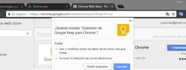 Cómo buscar e instalar una extensión de Chrome