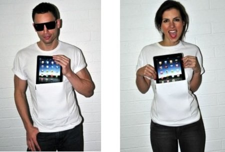 iClothing, ropa para llevar el iPad