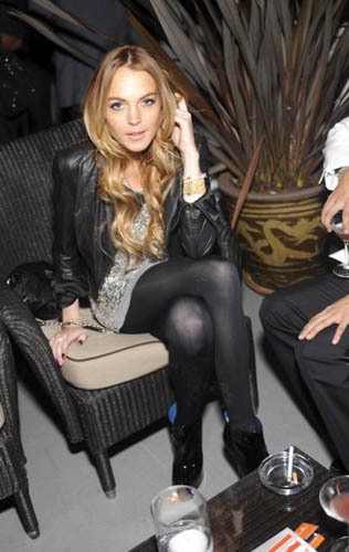 dsquared2 party lohan richie barton 2