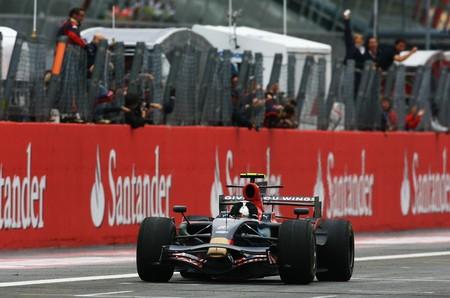Vettel Monza F1 2008