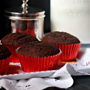 Magdalenas de chocolate: la mejor receta que he probado nunca