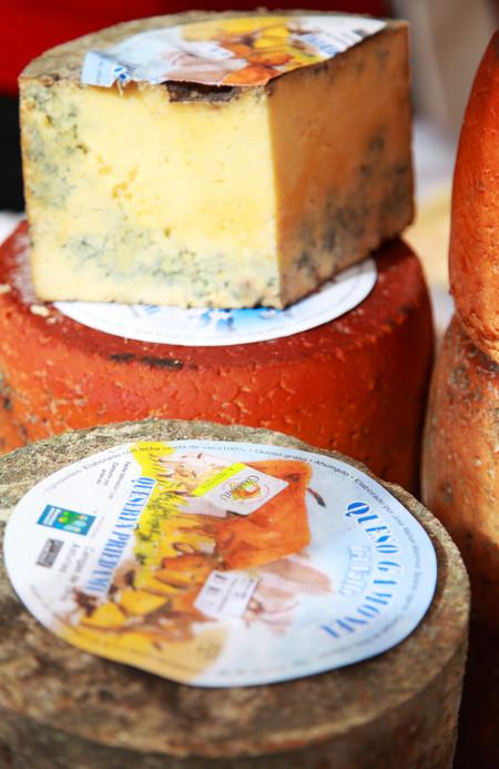 queso gamonéu del valle asturiano