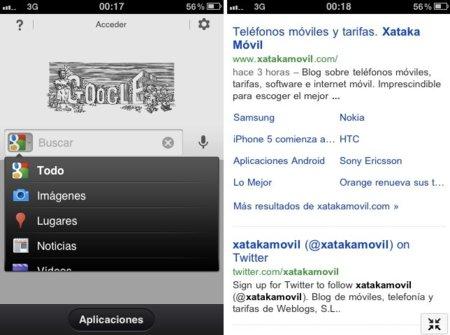Google App actualizada para iOS con visibles mejoras en su interfaz