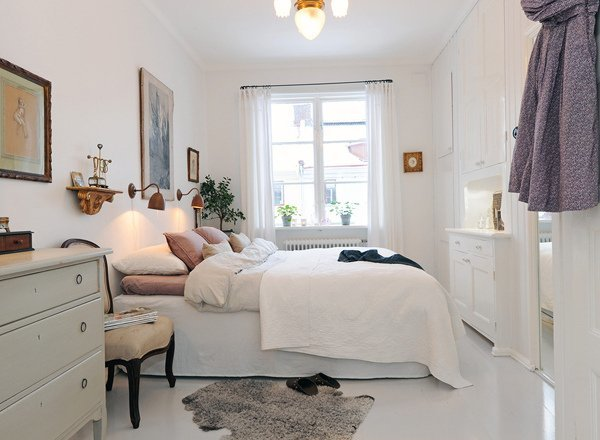 Un dormitorio muy femenino