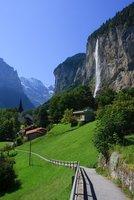 El valle de las 72 cascadas suizas