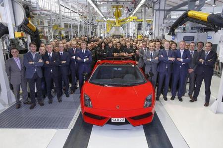 Lamborghini fabrica el último Gallardo