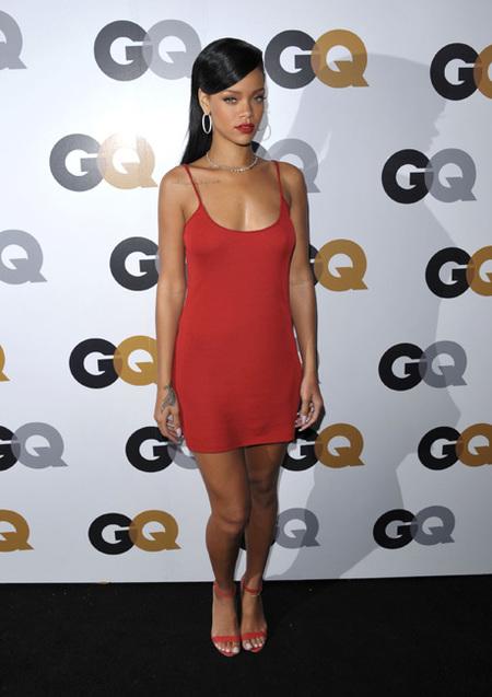 Rihanna gala gq hombre del año