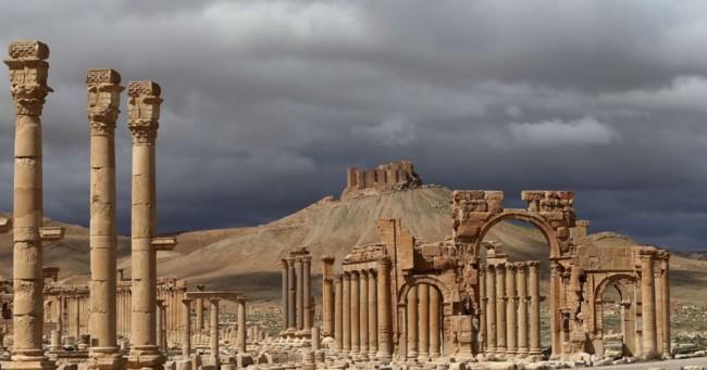 Palmira antes y después de ISIS