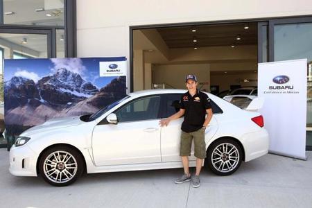 Marc Márquez conducirá un Subaru WRX STi