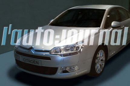 Fotos espía del nuevo Citroën C5