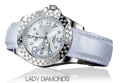 Lady Diamonds de Tudor. Relojes de lujo