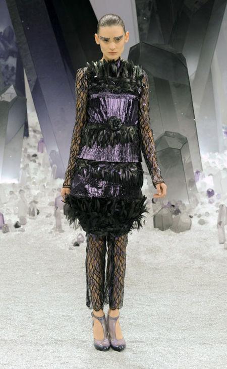 Chanel plumas invierno 2012