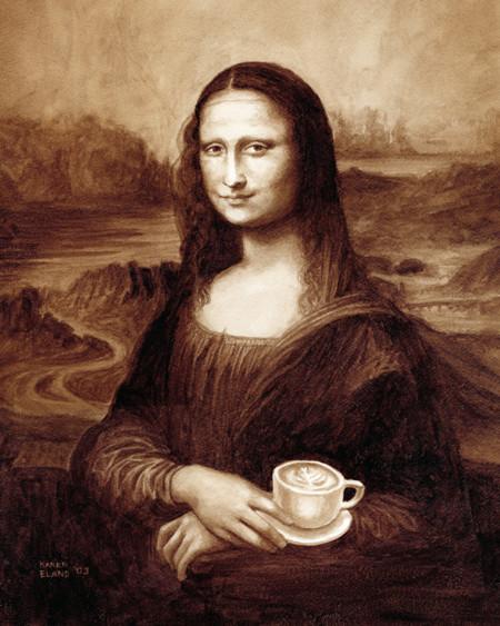 Aunque parezca increíble, hay alguien que hace obras de arte con café y cerveza