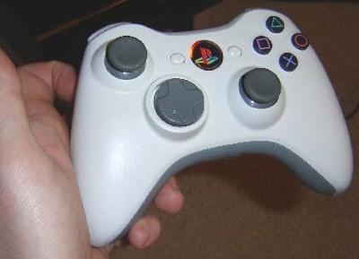 Mando de la XBox 360 en Playstation 3