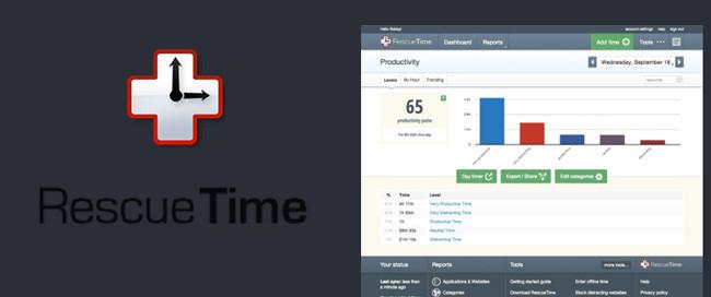 Rescuetime, contabiliza el tiempo que empleas frente a tu Mac y en qué lo inviertes