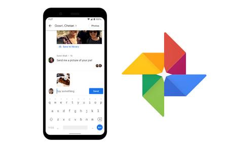 Google Fotos estrena chat para que sea más fácil compartir tus fotos y vídeos sin pérdida en la calidad