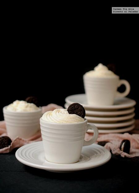 Crema De Oreo Yogur Y Chocolate Blanco