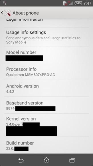 Sony Xperia Z3 Compact filtra sus especificaciones