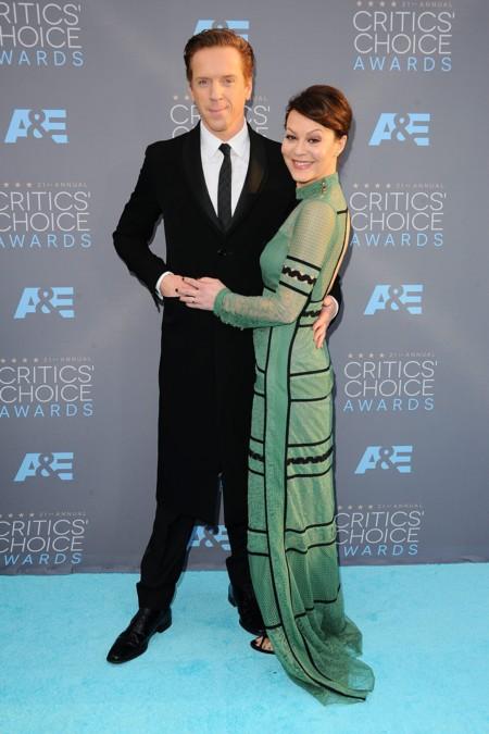 Damian Lewis y Helen McCrory