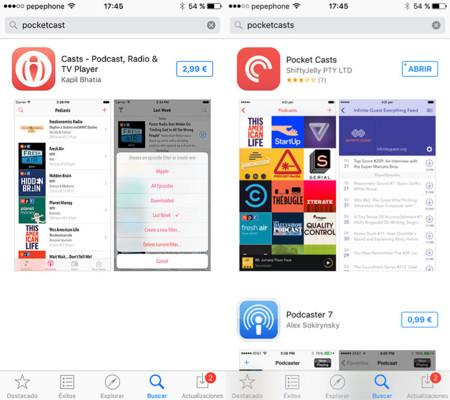 Búsqueda en iOS