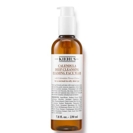 Kiehl S Calendula Deep Cleansing Foaming Face Wash