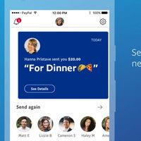 PayPal renueva su app para facilitar el envío de dinero entre particulares